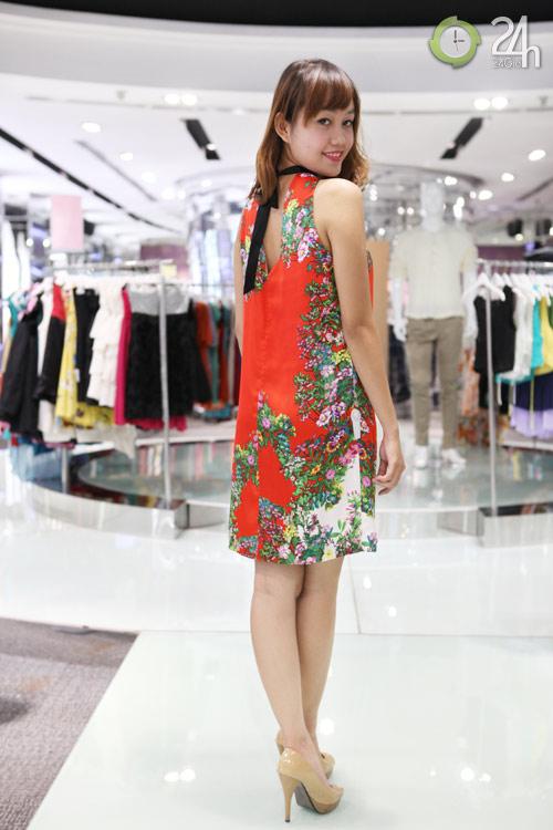 Khám phá váy hoa trong ngày ngập nắng - 5