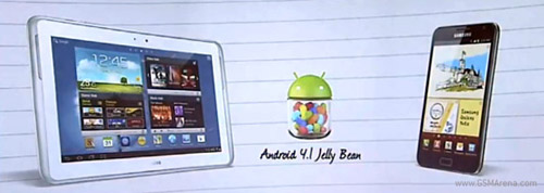 Galaxy S3, Note và Note 10.1 sắp lên Jelly Bean - 1