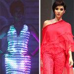 Thời trang - Ngọc Quyên đỏ rực, phát sáng đi catwalk