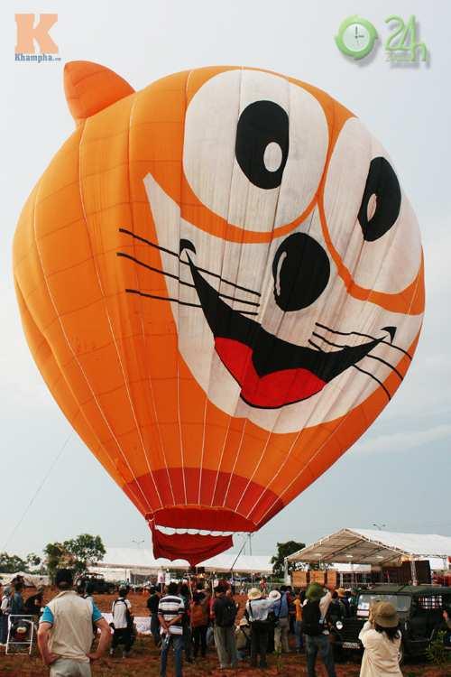 Sôi động lễ hội khinh khí cầu tại Việt Nam - 9