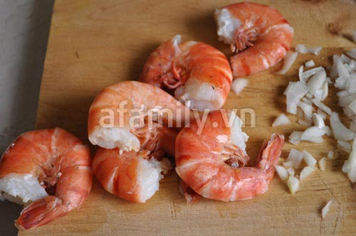 Gỏi tôm rau rút giòn ngon dễ làm - 4