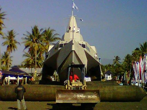 Tàu tàng hình tiên tiến nhất TG của Indonesia - 2