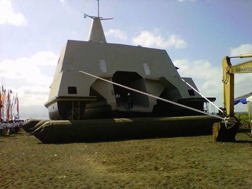 Tàu tàng hình tiên tiến nhất TG của Indonesia - 3