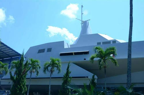 Tàu tàng hình tiên tiến nhất TG của Indonesia - 8