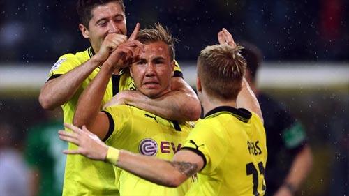 Nuremberg - Dortmund: Goetze tìm lại nụ cười - 1