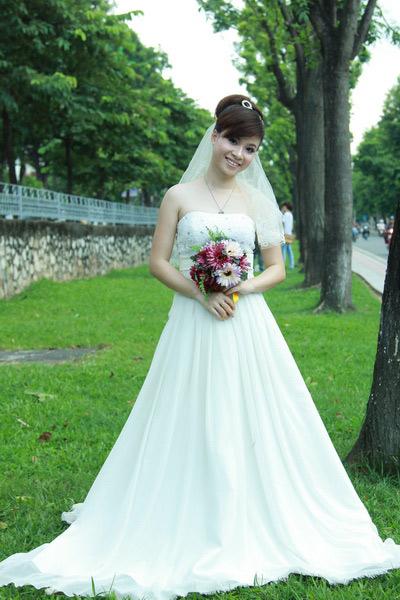 Thiếu nữ Hà Nội rạng rỡ làm cô dâu - 6