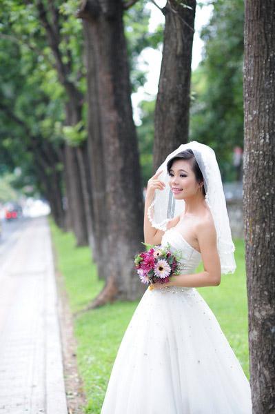 Thiếu nữ Hà Nội rạng rỡ làm cô dâu - 14
