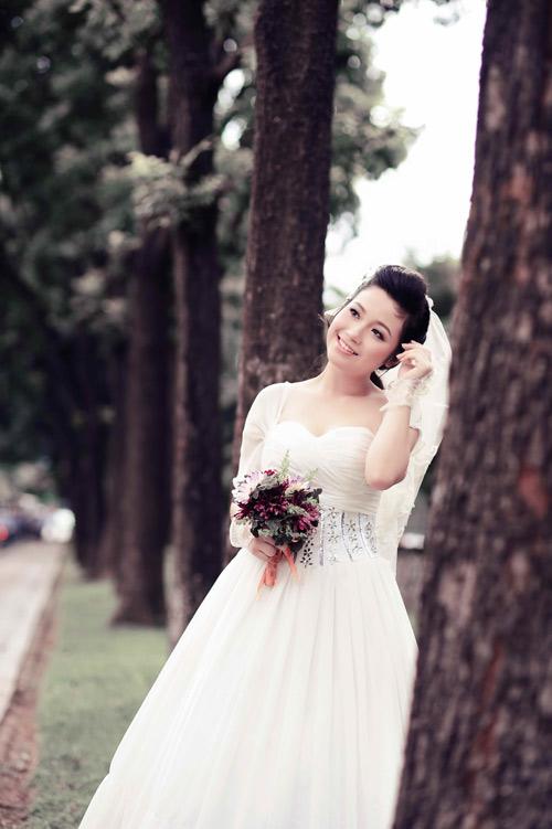 Thiếu nữ Hà Nội rạng rỡ làm cô dâu - 18