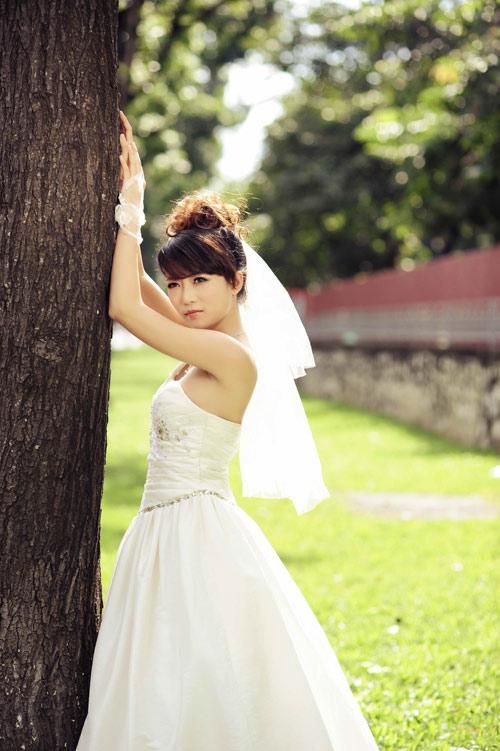 Thiếu nữ Hà Nội rạng rỡ làm cô dâu - 15