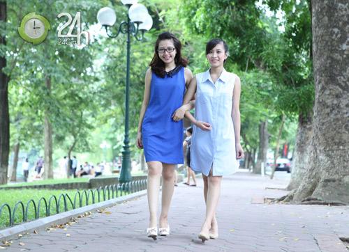 Chiều lòng phái đẹp với váy suông đơn sắc - 3