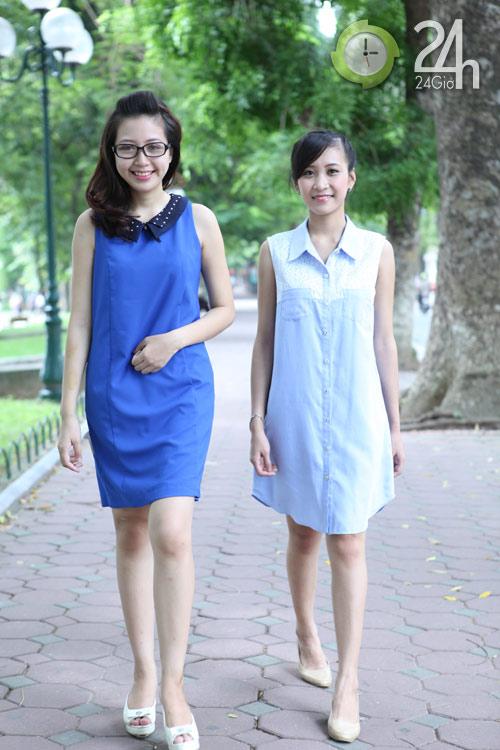 Chiều lòng phái đẹp với váy suông đơn sắc - 4