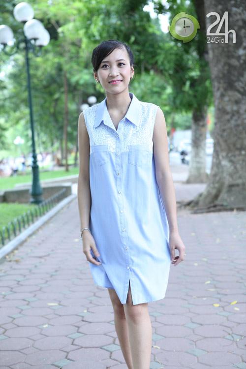 Chiều lòng phái đẹp với váy suông đơn sắc - 7