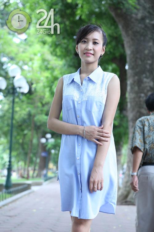 Chiều lòng phái đẹp với váy suông đơn sắc - 8
