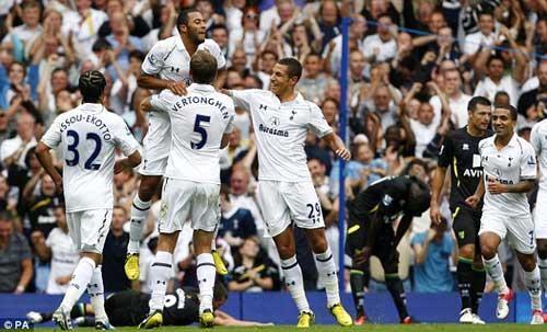 Tottenham – Norwich: Căng như dây đàn - 1