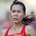 """Thể thao - """"Nữ hoàng điền kinh"""" Trương Thanh Hằng bị gãy chân"""