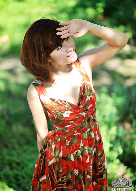 Thiếu nữ Vinh khoe vẻ đẹp căng tràn - 18
