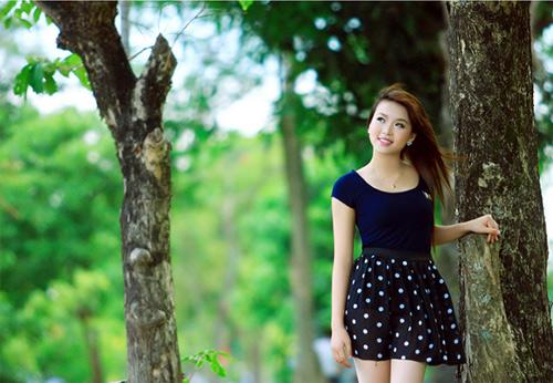 Thiếu nữ Vinh khoe vẻ đẹp căng tràn - 13