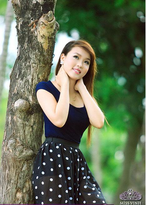Thiếu nữ Vinh khoe vẻ đẹp căng tràn - 14