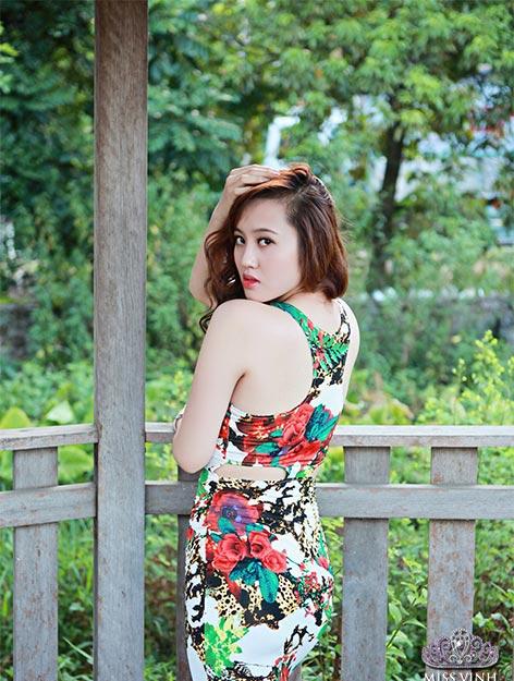 Thiếu nữ Vinh khoe vẻ đẹp căng tràn - 2