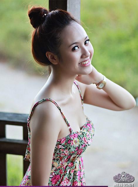 Thiếu nữ Vinh khoe vẻ đẹp căng tràn - 9