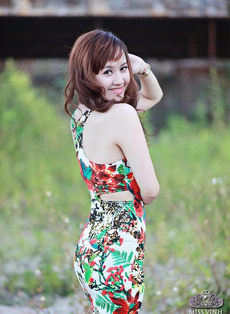 Thiếu nữ Vinh khoe vẻ đẹp căng tràn - 4