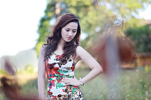 Thiếu nữ Vinh khoe vẻ đẹp căng tràn - 5