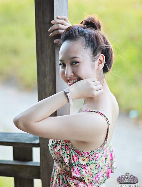 Thiếu nữ Vinh khoe vẻ đẹp căng tràn - 8