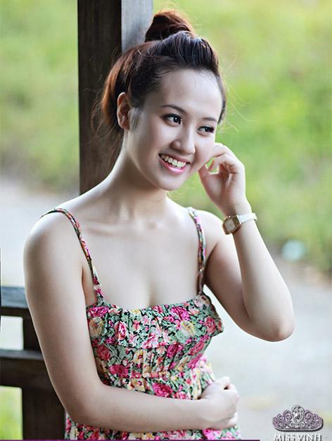 Thiếu nữ Vinh khoe vẻ đẹp căng tràn - 7