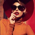 Thời trang - Kính tôn nét sexy bí ẩn cho gương mặt