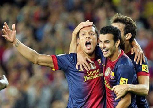 Barca - Valencia: Tuyệt tác bàn thắng - 1