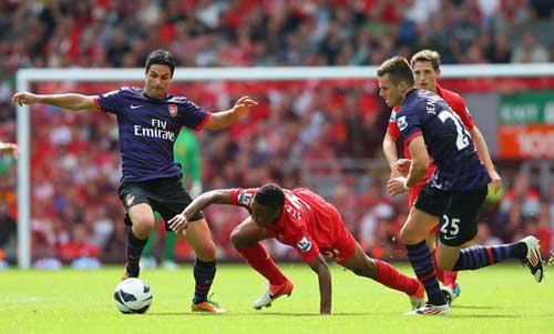 Arsenal: Chiến thắng của hàng tiền vệ - 1
