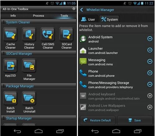 Giảm hao pin cho thiết bị chạy Android - 2