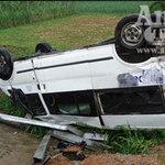An ninh Xã hội - Xe mất lái, 8 người thoát nạn 1 cách kỳ diệu