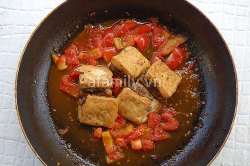 Đậu nhồi thịt xốt cà chua giòn sựt sựt - 10