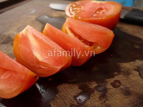 Đậu nhồi thịt xốt cà chua giòn sựt sựt - 8