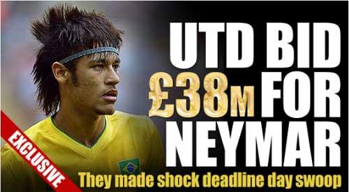 """MU """"phá két"""" vì Neymar - 1"""