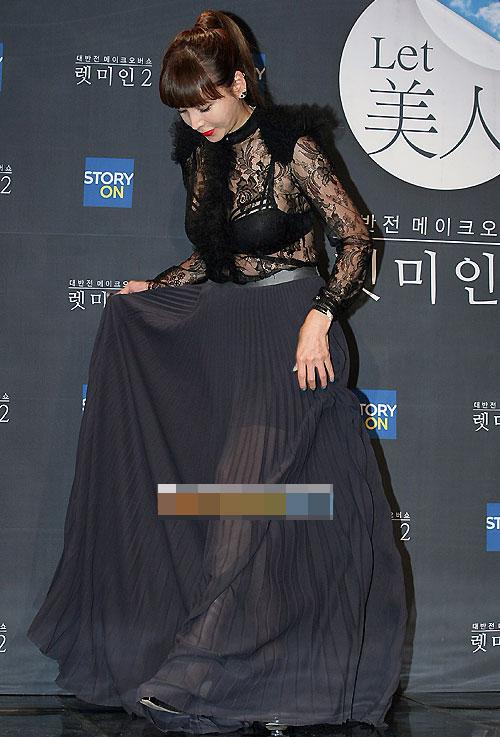 """Hoa hậu xứ Hàn cổ xúy mốt """"quên quần"""" - 8"""