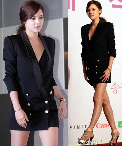 """Hoa hậu xứ Hàn cổ xúy mốt """"quên quần"""" - 1"""