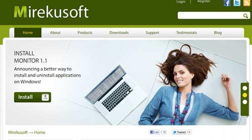 Gỡ bỏ các phần mềm cứng đầu với Mirekusoft Install Monitor - 1