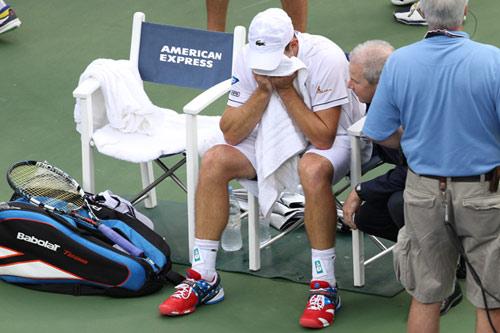 Roddick đẫm lệ ngày chia tay - 1