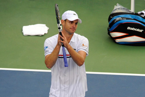 Roddick đẫm lệ ngày chia tay - 3