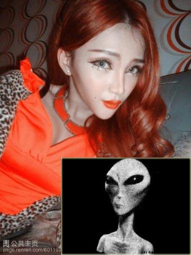 Thiếu nữ mặt giống người ngoài hành tinh - 6