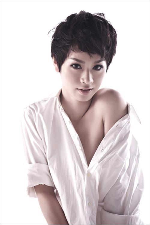 Mỹ nhân Việt khoe cá tính cùng tóc ngắn - 3