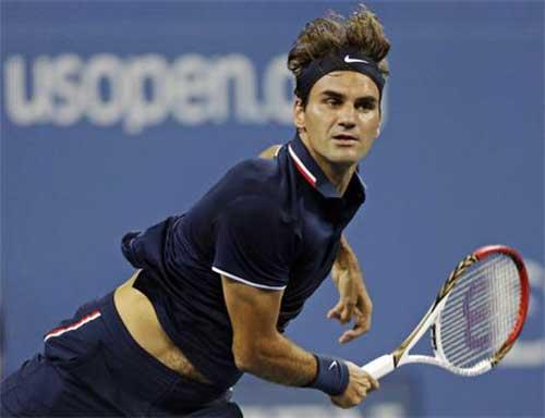Federer - Berdych: Hạ gục Tàu tốc hành (video TK US Open) - 1