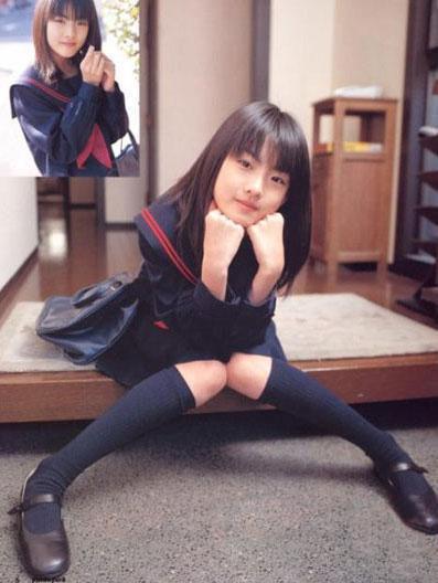 Sao Á đọ trẻ trung với đồng phục nữ sinh - 5