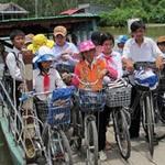 Giáo dục - du học - Vượt sông nước đến trường