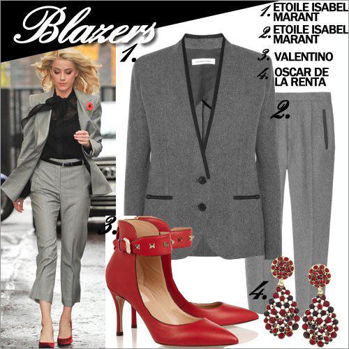 11 cách mặc blazer quyến rũ đến công sở - 10