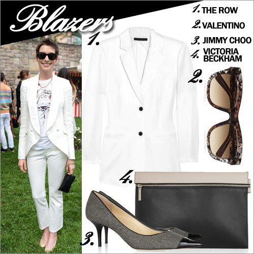 11 cách mặc blazer quyến rũ đến công sở - 8