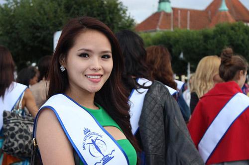 Hương Thảo nổi bật thi Hoa hậu - 20