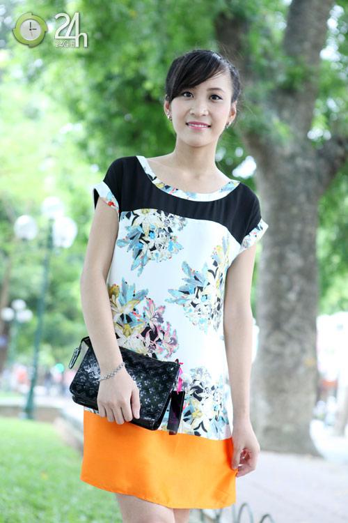 Rạng rỡ với váy suông họa tiết - 7